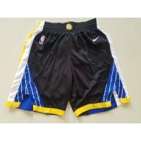 Golden State Warriors Black Basketball Shorts