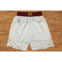 Cleveland Cavaliers White Basketball Shorts