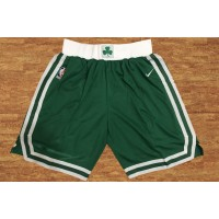 Boston Celtics Green Basketball Shorts