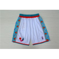 1996 All-Star Game White Basketball Shorts