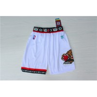 Memphis Grizzlies Classic White Basketball Shorts