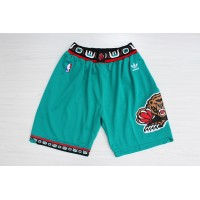 Memphis Grizzlies Classic Teal Basketball Shorts