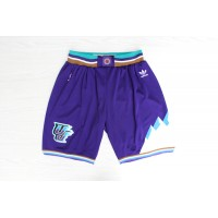Utah Jazz Classic Purple Basketball Shorts