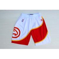Atlanta Hawks Classic White Basketball Shorts