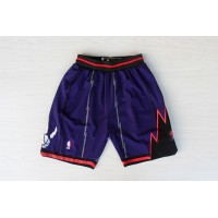 Toronto Raptors Classic Purple Basketball Shorts