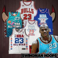 Michael Jordan All-Star Game Jerseys