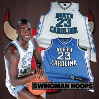 Michael Jordan North Carolina University Jerseys