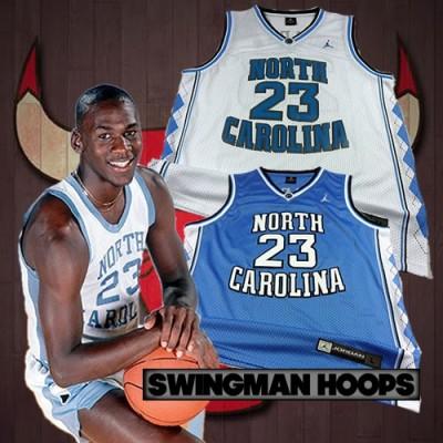 Michael Jordan North Carolina University Jerseys