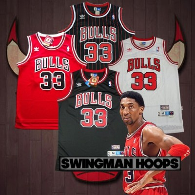 Scottie Pippen Chicago Bulls Hardwood Classics Jerseys