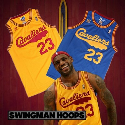 LeBron James Cleveland Cavaliers 1970 Vintage Hardwood Classics Jerseys