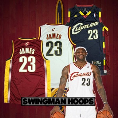 LeBron James Cleveland Cavaliers 2003 Classic Mesh Jerseys