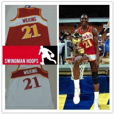 Dominique Wilkins Atlanta Hawks Hardwood Classics Jerseys