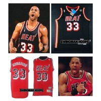 Alonzo Mourning  Miami Heat Hardwood Classics Jerseys