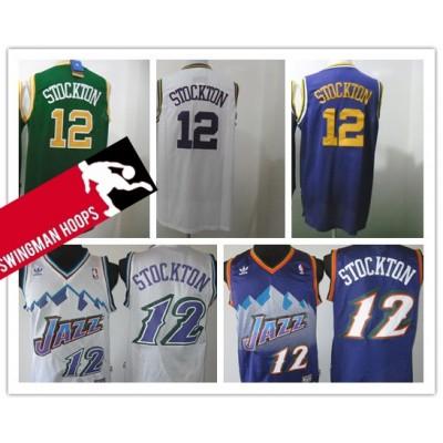 John Stockton Utah Jazz Hardwood Classics Jerseys