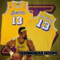 Wilt Chamberlain Los Angeles Lakers Hardwood Classics Jerseys