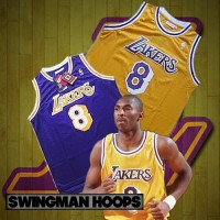 Kobe Bryant Los Angeles Lakers No.8 Hardwood Classics Jerseys