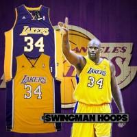 Shaquille O'Neal Los Angeles Lakers REV30 Swingman Jerseys