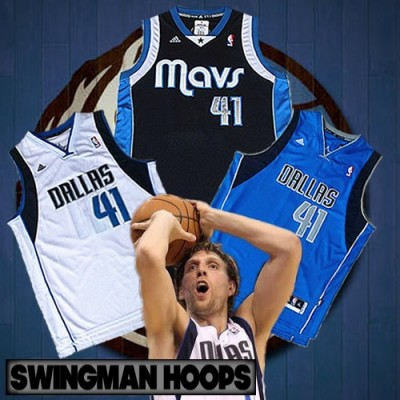 Dirk Nowitzki Dallas Mavericks REV30 Swingman Jerseys