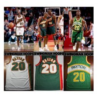 Gary Payton Seattle Supersonics Jerseys