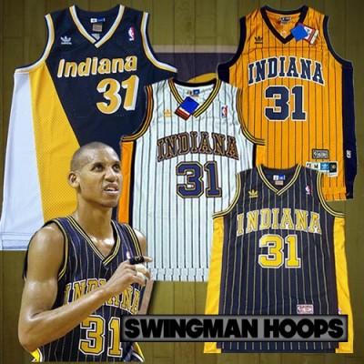 Reggie Miller Indiana Pacers Hardwood Classics Jerseys