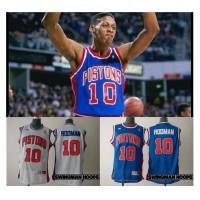 Dennis Rodman Detroit Pistons Hardwood Classics Jerseys