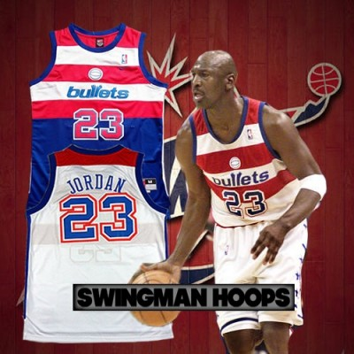 Michael Jordan Washinton Bullets Jerseys
