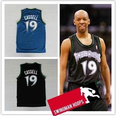 Sam Cassell Minnesota Timberwolves Hardwood Classics Jerseys