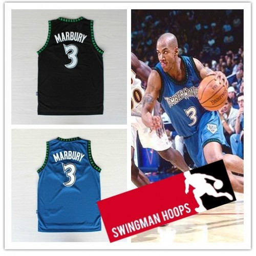 4ff8810c7 Stephon Marbury Minnesota Timberwolves Hardwood Classics Jerseys
