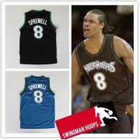 Latrell Sprewell Minnesota Timberwolves Hardwood Classics Jerseys