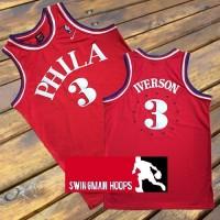 Allen Iverson Philadelphia 76ers 1963 Throwback Jersey