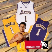 D'Angelo Russell Los Angeles Lakers New Swingman Jerseys