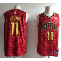 Trae Young Atlanta Hawks Red Jersey