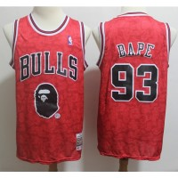 BAPE X Mitchell & Ness Special Edition Chicago Bulls Jersey - Swingman Version