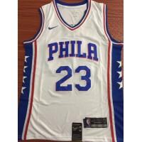 Jimmy Butler Philadelphia 76ers White Jersey