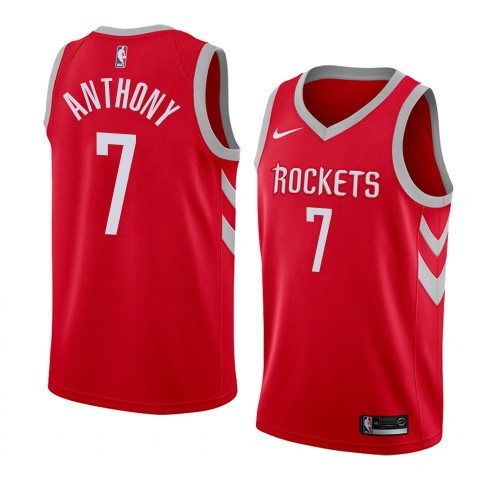 60257b808 Carmelo Anthony Red Houston Rockets Jersey
