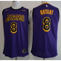 Kobe Bryant No.8 - 2018-19 Los Angeles Lakers City Edition Jersey