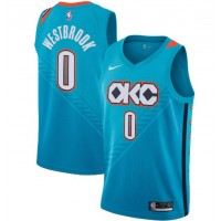 Russell Westbrook 2018-19 Oklahoma City Thunder City Edition Jersey