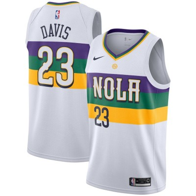 Anthony Davis 2018-19 New Orleans Pelicans City Edition Jersey