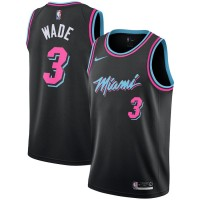 Dwyane Wade 2018-19 Miami Heat City Edition Jersey