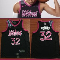 Karl-Anthony Towns 2018-19 Minnesota Timberwolves City Edition Jersey