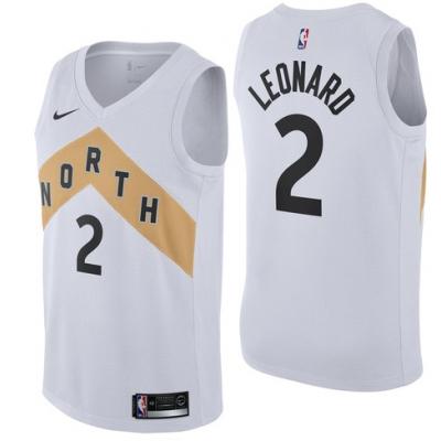 Kawhi Leonard 2018-19 Toronto Raptors City Edition Jersey