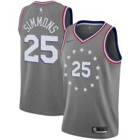 Ben Simmons 2018-19 Philadelphia 76ers City Edition Jersey
