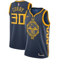 Stephen Curry 2018-19 Golden State Warriors City Edition Jersey