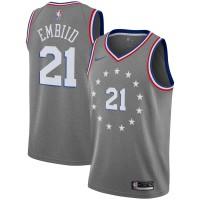 Joel Embiid 2018-19 Philadelphia 76ers City Edition Jersey