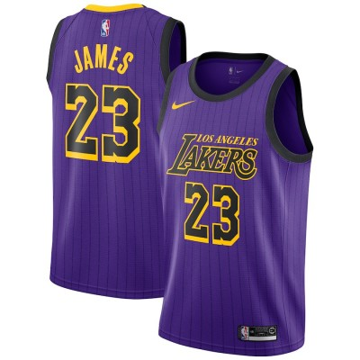 LeBron James 2018-19 Los Angeles Lakers City Edition Jersey