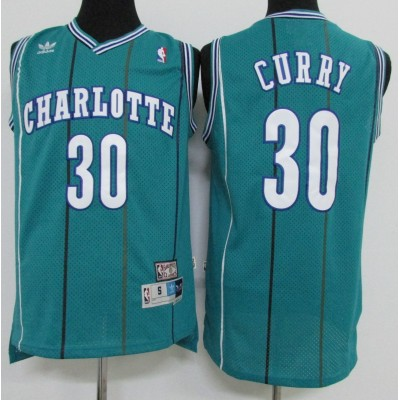Dell Curry Charlotte Hornets Hardwood Classics Jersey