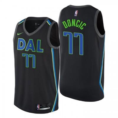 Luka Dončić Dallas Mavericks City Jersey