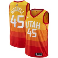 Donovan Mitchell 2017-18 City Edition Jersey