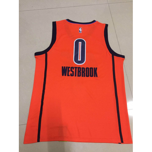c0cb5180e Russell Westbrook 2018-19 Oklahoma City Thunder Earned Edition Jersey