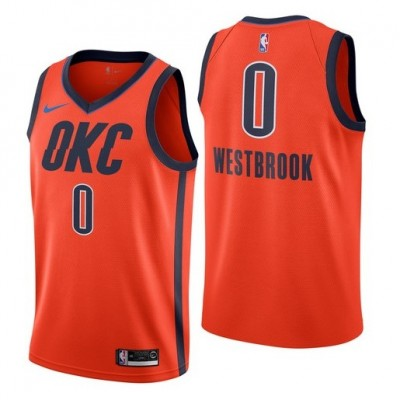 Russell Westbrook 2018-19 Oklahoma City Thunder Earned Edition Jersey